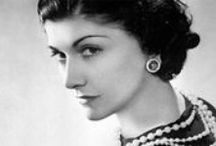 Coco Chanel - the iconic woman and her suit.