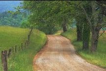 Quiet of the Country Life / Scenes of peace, quiet, solitude, simple country life.