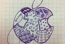 My Apple Designs / Different designs of Apple :) by Gazelle