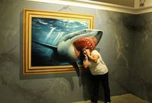 Trick Art Museum in Korea / Amazing optical illusion pictures
