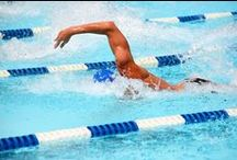 SWIMMING / Water exercises like swimming and water aerobics are a perfect way to squeeze exercise into your summer fun.