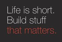 Startup / We are here to help you build a business that matters.
