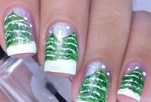 Christmas/Holiday Nail Art / All nail art details can be found on my blog ManicuredandMarvelous.com