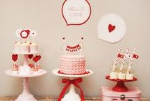 Valentine's Day Party Ideas / Baby showers, birthday parties, house parties, and Valentine's Day parties full with love!
