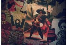 * R I D L E Y * P L A C E * / Pictures of our venue, design and wall art