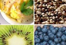 gezond / gezond eten klaarmaken bijvoorbeeld zonder suiker