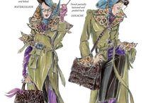 fashion sketch DIY