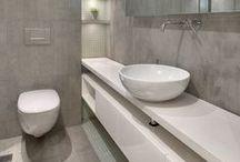 Moderne badkamers / Inspirerende badkamer ideeën, helemaal van nu! Super strak, tot stoer industrieel