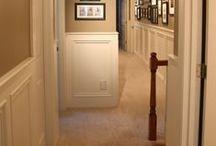 Huis: hal gang trappenhuis
