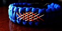 D.I.Y bracelets etc. / macrame/different knot techniqes with hemp, paracord etc.