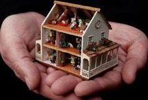 miniatuurtjes / diy miniaturen voor poppenhuizen e.d.