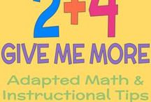 2+4 Give Me More / Not everyone loves math, but you will love teaching math to LIFE Skills students, students in Autism Units, or any student with the printables and activities  you'll find here. I love math more already!