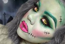 ╚>MAQUILLAJE ARTISTICO<╝ / by Daia❤❤ Make Up ❤❤
