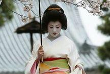 Kyoto geiko / Beautiful foto's of the lives of Kyoto geiko.