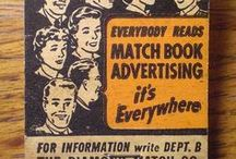 "MATCHBOOKs ❖ A Lifetime Legacy / Let's pin vintage matchboxes, matchbooks, and match labels advertising.  Group guidelines: No more than 10 pins per day per pinner. If you'd like to be added as a pinner, follow me (Pinterest's requirement), then leave me a note on the ADD ME board or comment on one of my pins. PG-rated. ❖If you like this board, please stop by FB and ""Like"" A Lifetime Legacy. Follow us on Twitter @ALifetimeLegacy. Happy pinning! http://ALifetimeLegacy.com  / by A Lifetime Legacy"