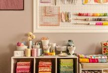 Sewing and craft room/organization