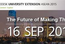 Autodesk University Extension ASEAN / Autodesk University Extension ASEAN,  Great Experience User for using Autodesk Software for multi Industry ( Manufacturing, AEC, & Media Entertainment )