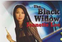 李珍娜 ~ Jeanette Lee / 李珍娜,是美國韓裔花式撞球職業選手,在撞球界譽有「黑寡婦」之稱。