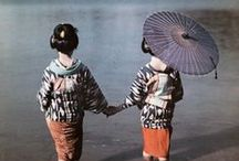 Tokyo geisha and more / Geisha and apprentice geisha (hangyoku) from Tokyo. Their appearance is very different from Kyoto maiko and geisha.  In this album you'll also find geisha and apprentice geisha from Osaka, Nagasaki and other cities.