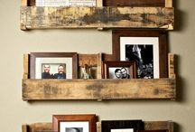 Reclaimed wood / DIY genbrugstræ