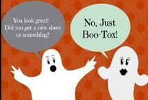 Trick or Treatment / Get boo-tiful this fall at Camille Cash M.D. www.camillecashmd.com