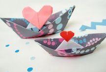 origami / Μια φορά κι έναν καιρό ήταν ένα μικρό, τετράγωνο χαρτάκι ...