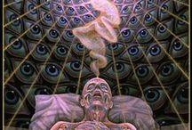 The Transition - der Übergang - le passage / Die Entbindung der Seele vom Körper und ihre Geburt in die Geistige Welt             The delivery of the soul from the body and its birth into the spiritual world