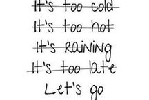 Running everything