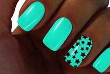 Neonowe paznokcie / Neon Nails