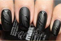 Czarno-białe paznokcie / Black & White Nails