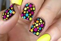 Pełne kolorów paznokcie / Colorful Nails