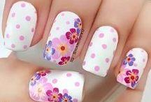 Z wzorkiem paznokcie / Pattern Nails