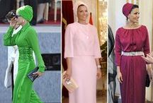 Sheikha Mozah turbans