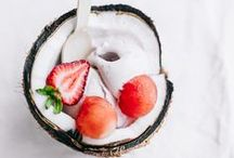 ice cream + summer goodies