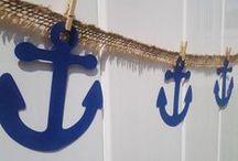 nautical party ahoyyyy !
