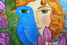 Jane ( Zhenya) Lebedeva / ...auch Zhenya Lebedeva - eine bemerkenswerte Künstlerin geboren 1974 in der Ukraine - a remarkable artist born in 1974 in Ukraine