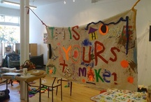 Studio Homemaking  / We recently purchased and renovated a drab vacant building into a vibrant space that is as welcoming, inclusive and inspiring. This is a list of ideas for studio homemaking projects, as we continue to make the place feel like Home.