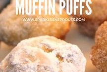 Breakfast Fun / Breakfast treats that are perfect for a quick morning treat or a weekend brunch