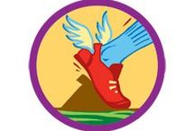 Practice with Purpose Badge - Junior Girl Scout Badge Ideas / Requirements for Practice with Purpose Junior Badge--  Step 1: Decide on your goal.  Step 2: Increase your endurance.  Step 3: Build up your strength.  Step 4: Drill for skill.  Step 5: Practice, practice, practice! / by Junior Girl Scout Badges