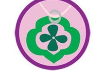 Jeweler Badge -- Junior Girl Scout Badge Ideas / Requirements for earning Junior Jeweler Badge--  Step 1. Get to know the tools of the trade.  Step 2. Make Jewelry with metal.  Step 3. Turn everyday objects into jewelry.  Step 4. Create jewelry inspired by another country.  Step 5. Make a sparkling gift. / by Junior Girl Scout Badges