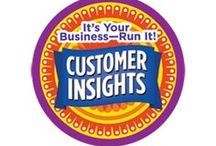 Customer Insights -- Junior Girl Scout Badge Ideas / Requirements for earning the Customer Insights Junior Badge--  Step 1: Ask an expert what customers want.  Step 2: Do some research at the grocery store.  Step 3: Find out who buys cookies and why.  Step 4: Learn from people who don't buy.  Step 5: Listen for clues and ask great questions.  / by Junior Girl Scout Badges