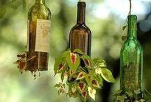 Wine bottle DIY