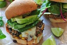 { veggie burgers } / veggie burger recipes