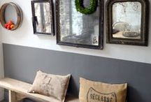 ◢ ◣ Country home - ideas ◥ ◤ / Inspiration : details, atmosphere, furnitures, wallpaper, paintings for my home sweet home.