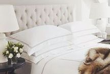 M&B | Bedroom & Bedding / Create your ultimate bedroom retreat with cozy comforters and luxurious linens from Meadows & Byrne