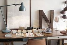 Industrial Interiors - Inspiration / Home + Office Inspiration