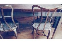 Chairs / We have everything from Unique Antiques to Industrial Repro's!