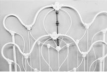 Antique Beds / We always carry a selection of Beautiful Wrought Iron Beds!