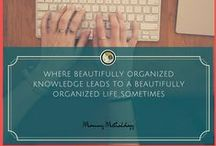 """From Mommy Methodology / http://www.mommymethodology.com ~""""Beautifully Organized Knowledge Leads To A Beautifully Organized Life"""" ~    A blog written by a compulsive researcher attempting to find both healthy lifestyle methods & natural parenting methods while still tackling information overload in a 'beautiful' way."""