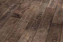 Reclaimed Wood - Inspiration / Reclaimed Wood - Decor + Design Inspiration